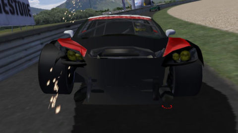 Mario Rocha took fourth place in the GT1 class in the ILMS: Old Ring