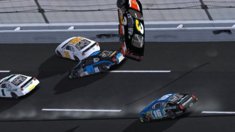 Mario Rocha took 18th place in the Talladega 200 in Round 3 of the Phoenix Racing Stock Car Challenge series.