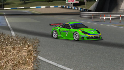 Mario Rocha captured third place in Live for Speed in Blackwood GT