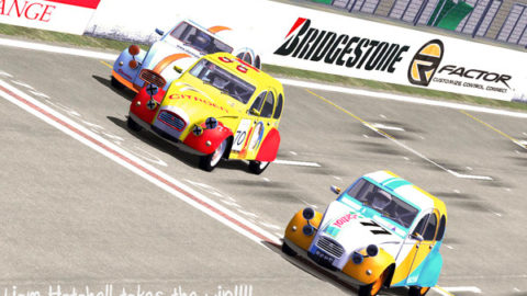 Mario Rocha captured 13th place in the 2CV Cup: Oldring