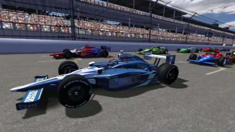 Mario Rocha captured 12th place in the Indianapolis 250 @ Race2Play.com