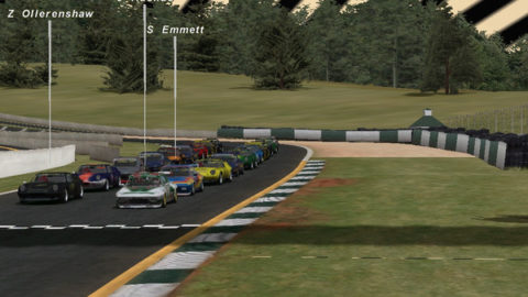 Mario Rocha captured eighth place in the Gr5 class in the So76: Road Atlanta // Race2Play