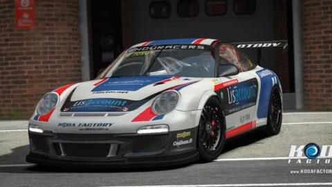 Atlantic Motorsport presents the new Porsche 911 Flat6 Enduracers
