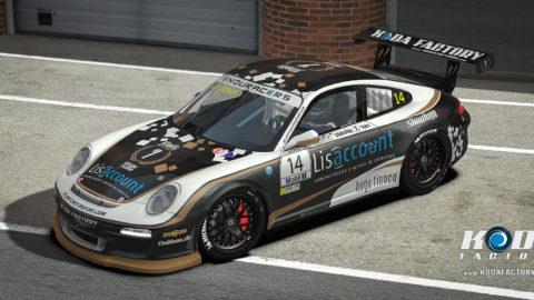 Atlantic Motorsport presents the new Porsche 911 Flat6 7 Years