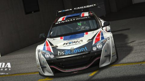 Atlantic Motorsport presents the new Renault Megane Trophy