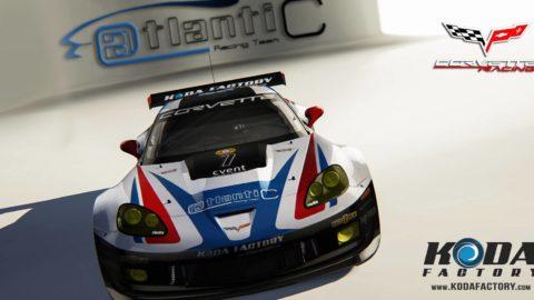 Atlantic Motorsport presents the new Corvette C6R EGT Mod