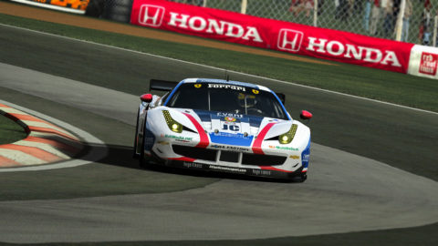Luís Almeida captured third place in the Barcelona GT2 Challenge @ Race2Play.com