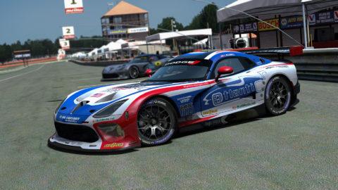 Atlantic Motorsport presents the new Dodge Viper EGT Mod