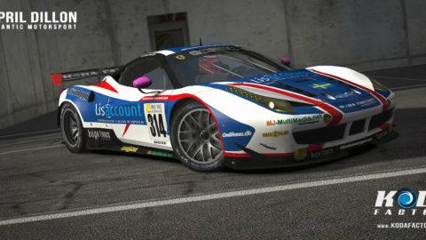 Atlantic Motorsport presents the new Lisaccount Ferrari 458 EGT Mod