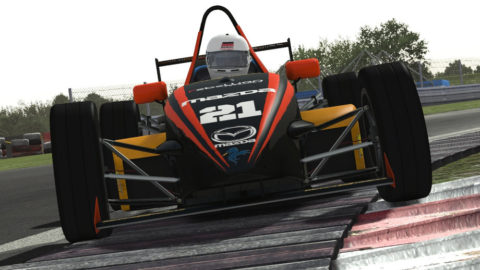 Miguel Abreu dominates lead every lap in Poznan Circuit Skip Barber // Race2Play