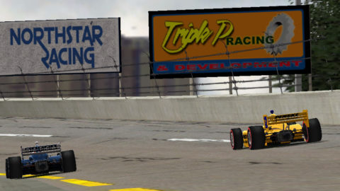 Carlos Reina finished 7th place in Daytona Road Course – B IndyCar // Race2Play