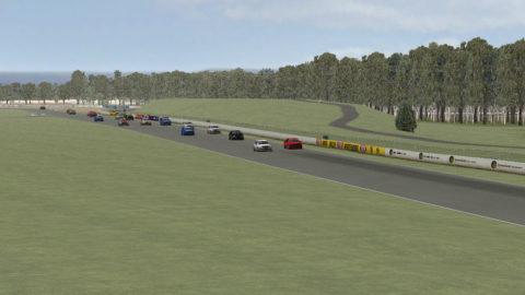 Carlos Reina captured fourth place in Queensland Raceway Skoda '08 // Race2Play