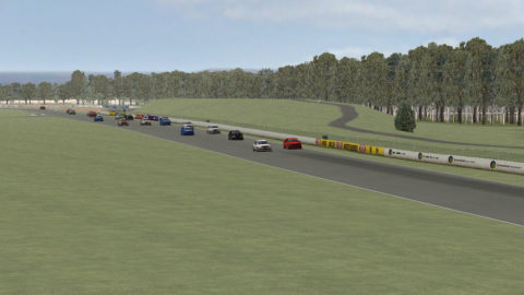 Carlos Reina captured fourth place in Queensland Raceway Skoda '08 // Race2Play