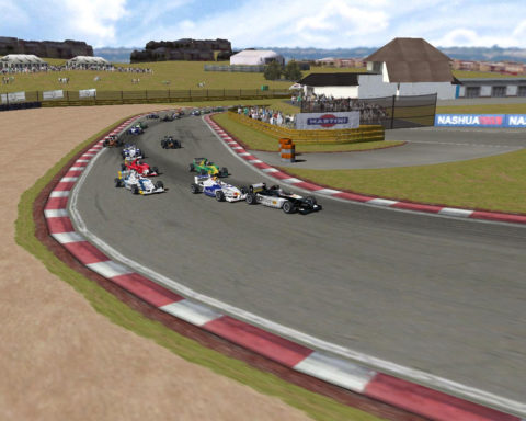 Last-lap pass caps race for Carlos Reina in Kyalami – GP Masters FBMW // Race2Play