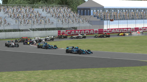 Sido Weijer won 10th place in the Montreal Gp FR14 in the opening round of the Formula Renault 3.5 series // Race2Play