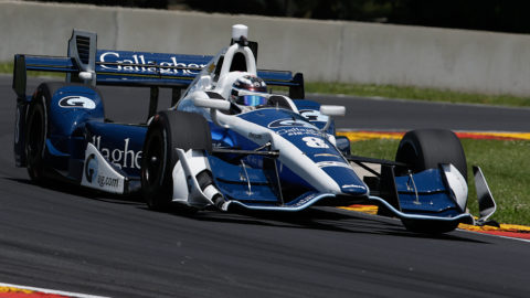 Sido Weijer took fourth place in the Montreal Gp IRL in Round 3 of the TNC Racing Indycar Series 2 // Race2Play