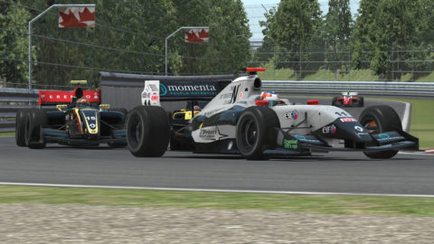 April Dillon won fifth place in the opening round of the Formula Renault 3.5 series in Montreal Gp FR14 // Race2Play