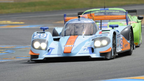 Joao Botelho De Sousa won fourth place in the WEP2 class in the GSRL Triple Crown Race #3: Le Mans '04 Multiclass. // Race2Play