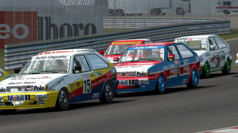 Naomi Makin captured 10th place in the Snetterton Polo93 @ Race2Play.com