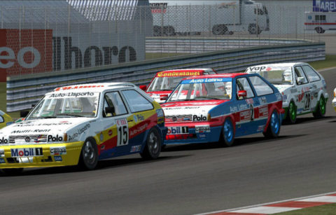 Michele Boffelli dominates lead every lap in Charade Polo93 @ Race2Play.com