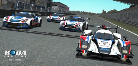 24h Lemans – Great results for Atlantic Motorsport