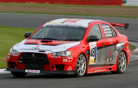 Csaba Lakó logged a lap at the front in a second-place run in the Spielberg Lancer @ Race2Play.com