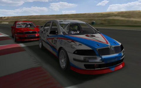 Alaoui Nassim run for first place in the Calder Park Raceway ETCC03 @ Race2Play.com