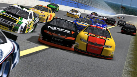 Mario Rocha held the lead for two laps in a run to 13th place in the Daytona 500k @ Race2Play.com
