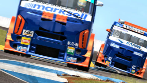 Mario Rocha captured fourth place in the Londrina Truck @ Race2Play.com
