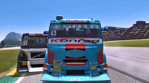 Mario Rocha captured fifth place in the Jacarepagua Truck @ Race2Play.com