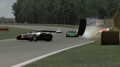 Despite losing his Lambo, Joao Botelho De Sousa captured third place in the ES_GT1 class in the Mid Ohio – No Chicane Multiclass @ Race2Play.com