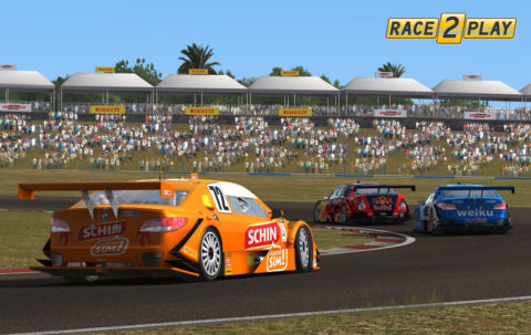 Csaba Lakó captured fifth place in the Goiania Stock Car '14 @ Race2Play.com