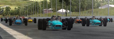 Jose Casanovas captured second place in the Hidden Valley Raceway Spark F3 @ Race2Play.com