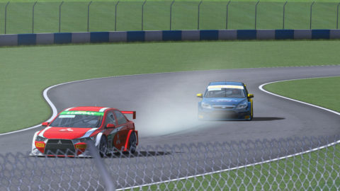 Capamadjian controls lead from start to finish in Donington Park Marcas @ Race2Play.com