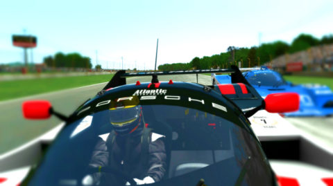 Daniel Gomez runs to first place in the Safe is Fast Mid Ohio @ Race2Play.com