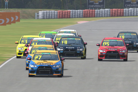 Almeida races Mitsubishi Lancer R in Guapore Lancer // Events // Race2Play Multiplayer Online Racing