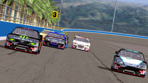 Mario Rocha took 17th place in the TNC Stock Car Series @ Race2Play.com