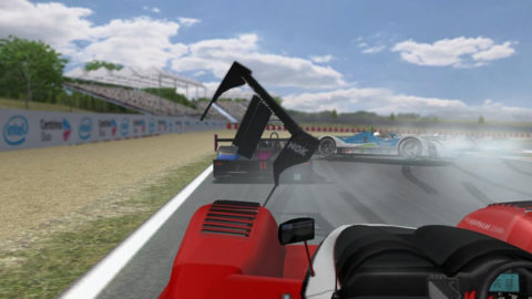 Mario Rocha took eighth place in the P1 class in the Barcelona LMPC @ Race2Play.com