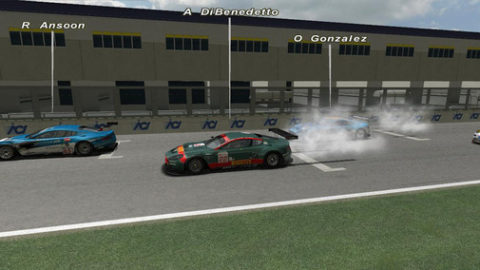Mario Rocha took fifth place in the GT1 class in the 1h of Vallelunga @ Race2Play.com