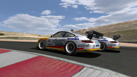 Mario Rocha made a final pass on the last lap for a 19th-place finish in the Eastern Creek PCC @ Race2Play.com