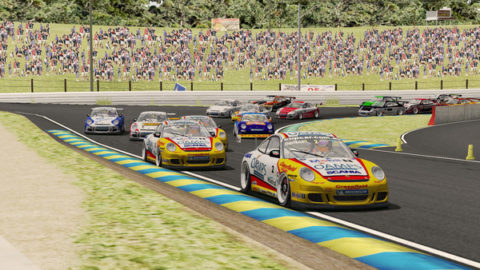 Mario Rocha won 17th place in the Bathurst PCC @ Race2Play.com