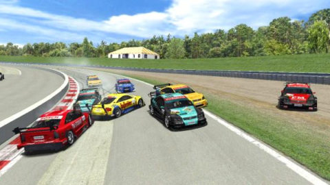Mario Rocha took seventh place in the DTM: Mosport @ Race2Play.com