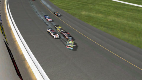Mario Rocha passed through more than half the field from 17th on the starting grid to sixth place at the finish line in the VHR: Michgan @ Race2Play.com