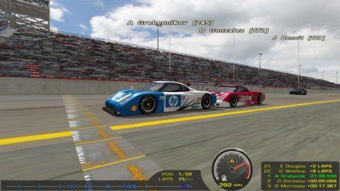 Mario Rocha finish in the Fabcar class in the 1.5 hours of Daytona in 12th place @ Race2Play.com