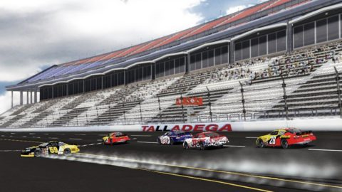 Mario Rocha captured sixth place in the Talladega Challenge @ Race2Play.com