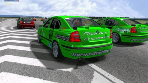 Mario Rocha took 12th place in the Russian Ring Skoda @ Race2Play.com