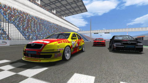 Mario Rocha won 24th place in the Eurospeedway Skoda @ Race2Play.com