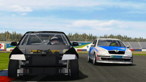 Mario Rocha took 13th place in the Nueburg Skoda @ Race2Play.com