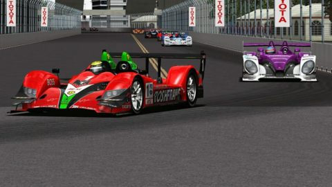 Mario Rocha won ninth place in the P2 class in the Atlantic Racing presents Grand Prix of Longbeach @ Race2Play.com