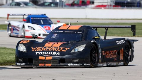 Andrie Ambadar took fourth place in the IMSA_P class in the Laguna Seca – ALMS Multiclass @ Race2Play.com